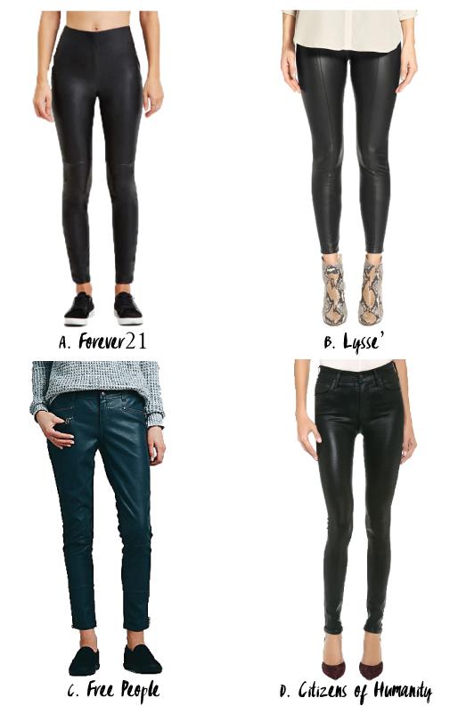 [Faux] Leather Pants